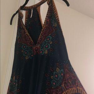 Free People Multicolor Printed Dress